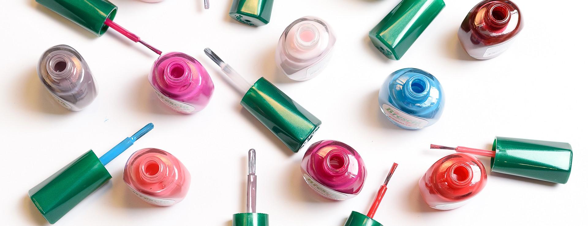 Esmaltes profesionales para uñas